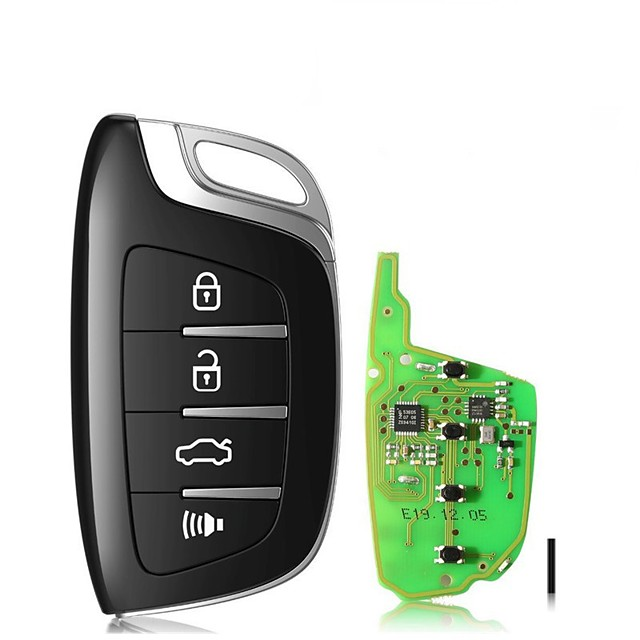 10pcs Xhorse XSCS00EN Smarty Remote Colorful Crystal Style(Smartkey) Smart Key 4 Buttons for VVDI2 Mini Key Tool