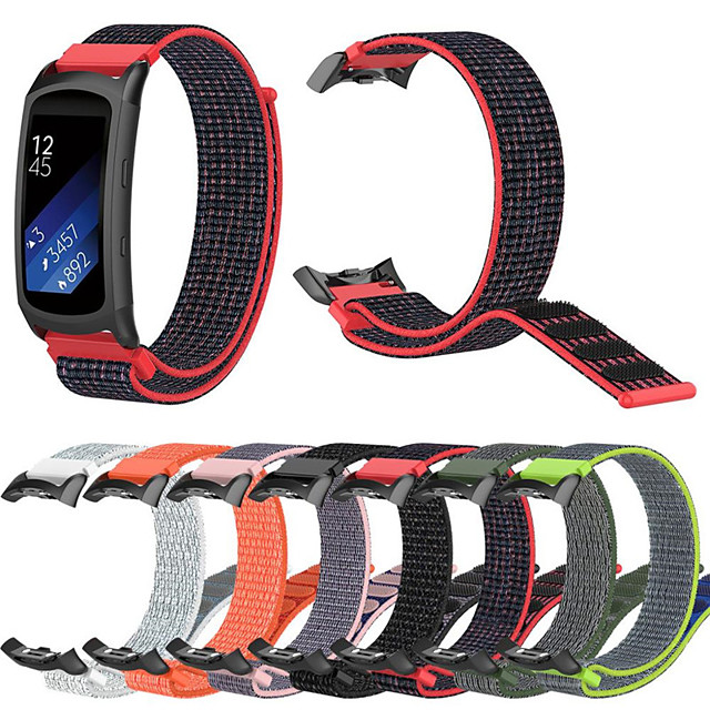 Nylon Sport Watch Band for Samsung Gear Fit2 Pro Fitness Watch Bands Wrist Strap for Samsung Gear Fit2 Pro / Samsung Gear Fit 2