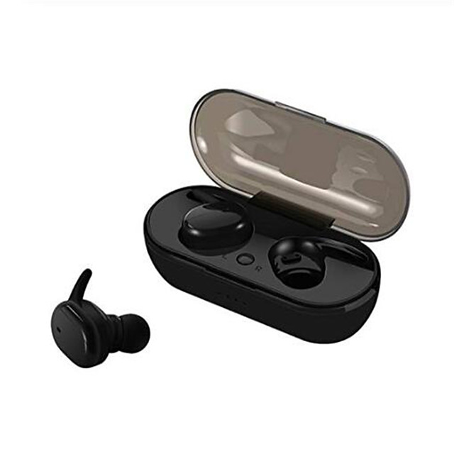 LITBest TWS4 TWS True Wireless Earbuds Wireless with Microphone with Volume Control with Charging Box Auto Pairing Smart Touch Control for Mobile Phone