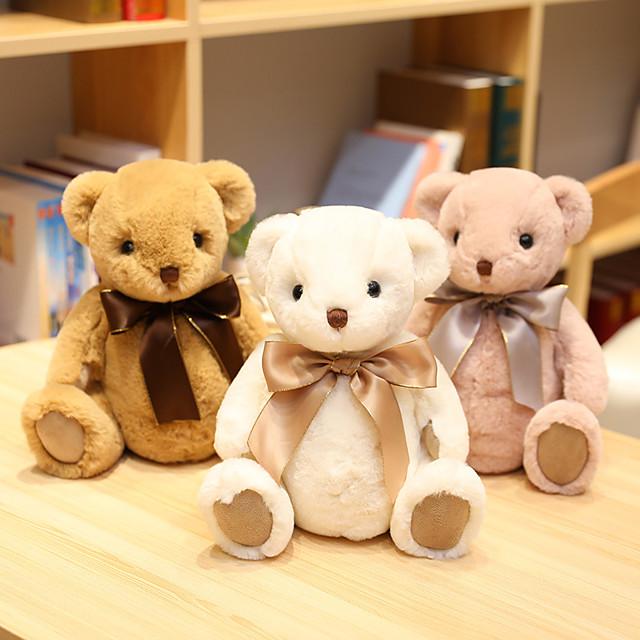 1 pcs Stuffed Animal Pillow Plush Doll Sofa Toys Plush Toys Plush Dolls Stuffed Animal Plush Toy Cartoon Teddy Bear Comfortable Realistic Soothing PP Plush Imaginative Play, Stocking, Great Birthday