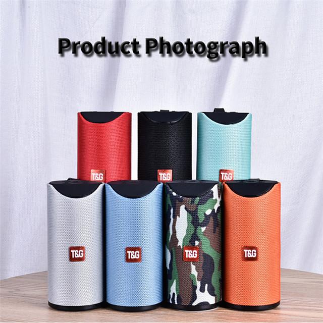 Bluetooth Speaker Portable Outdoor Loudspeaker Wireless Mini Column 3D 10W Stereo Music Surround Support FM TFCard Bass Box