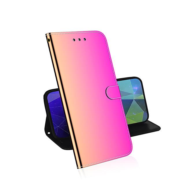 Gradient Flip Leather Case For Samsung A10 20 30 40 50 70 90 S 51 71 PVC Wallet Purse Phone Case