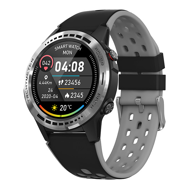 A7 Men Women Smartwatch Android iOS Bluetooth Waterproof Touch Screen GPS Heart Rate Monitor Blood Pressure Measurement Pedometer Call Reminder Activity Tracker Sleep Tracker Sedentary