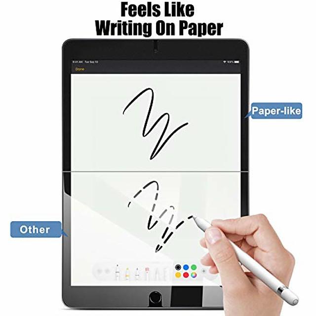 2pcs Paperlike Screen Protectors for iPad 9.7 iPad Pro iPad Air Screen Protector Compatiable with Apple PencilAnti Glare Painting Screen Protector for iPad iPadmini