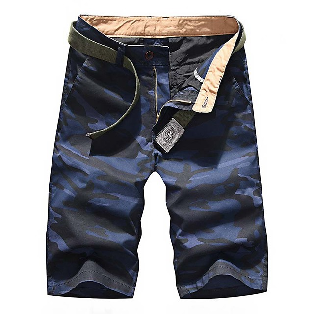 Men's Hiking Shorts Hiking Cargo Shorts Camo Summer Outdoor 10