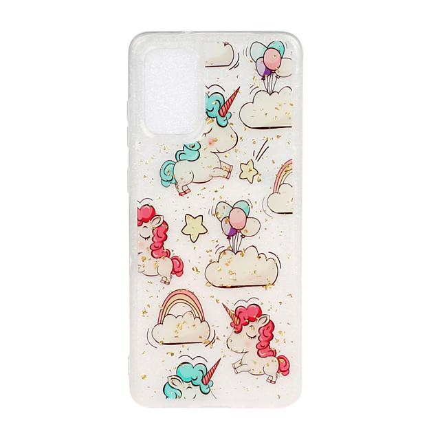 Case For Samsung Galaxy A6 (2018) / Galaxy A7(2018) / J7 Shockproof Back Cover Cartoon TPU