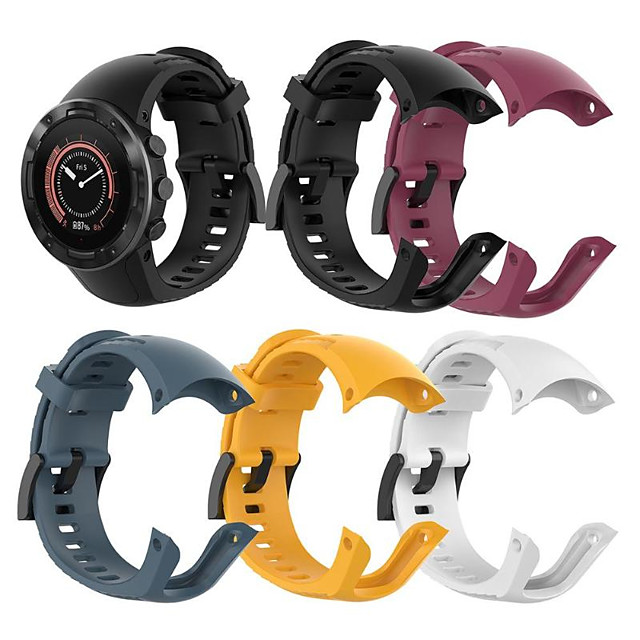 Silicone Strap Replacement for Suunto 5 Fitness Wristband Outdoor Sport Smart Watch for Suunto 5
