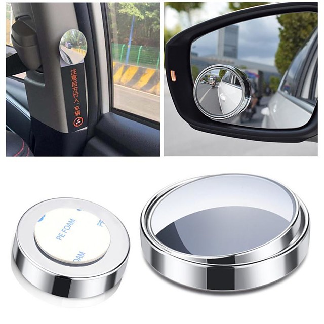 2020 New Car Mirror Car Back Seat Safety View Rear Baby Child 360-degree Rotating Car Small Round Safety Rearview Mirror