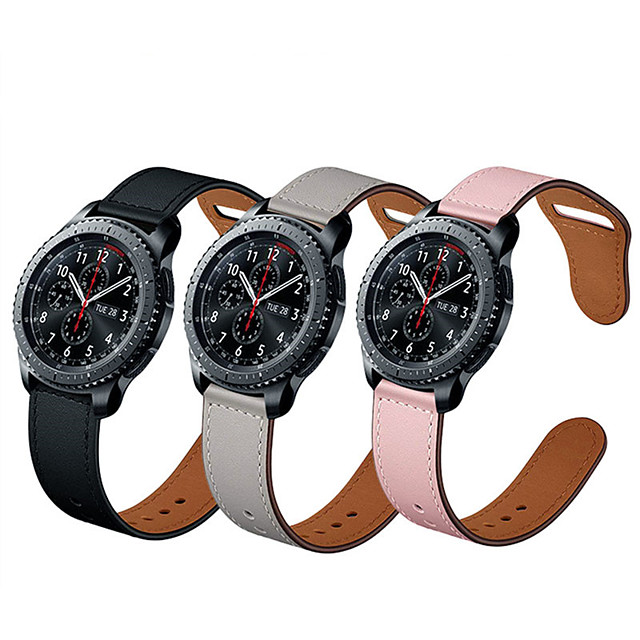 22mm Genuine leather Watchbands Quick Release strapFor Watch accessorie amazfit pace/AMAZFIT stratos / GTR 47mm