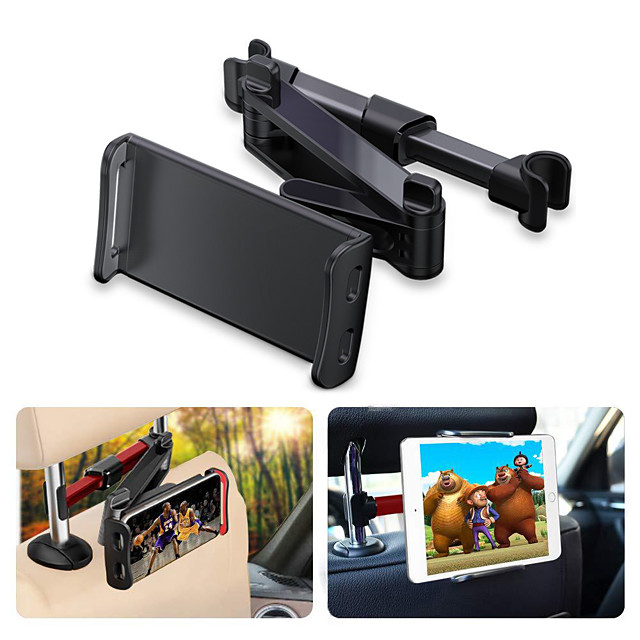 Car Tablet Holder Back Seat Headrest Mobile Phone  Bracket