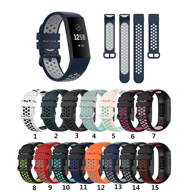 For Fitbit Charge 4 3 Charge 4 SE 3 SE Watch Band Replacement Silicone Bracelet Wrist Strap