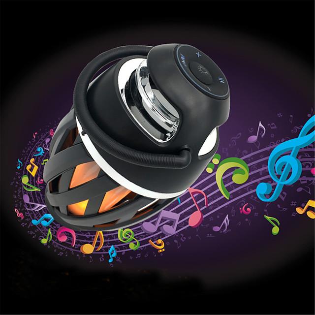 A1 creative flame Bluetooth speaker colorful atmosphere lamp subwoofer flame lamp bracket speaker