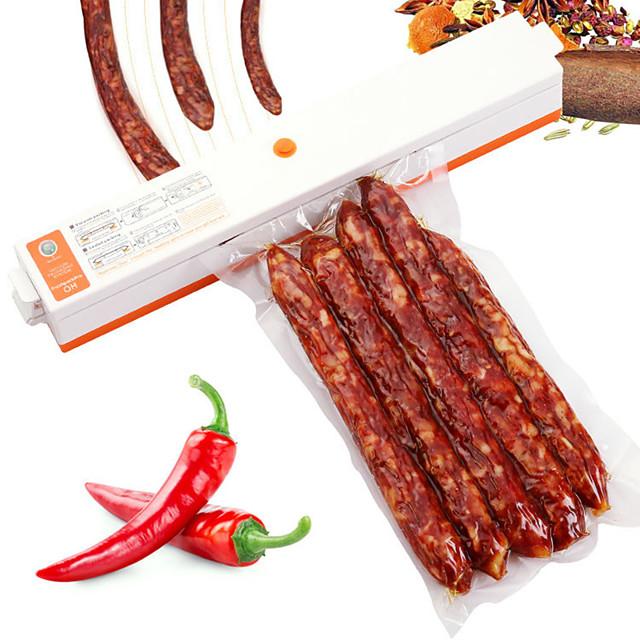 220V/110V Household Food Vacuum Sealer Packaging Machine Film Sealer Vacuum Packer Keep Food Fresh