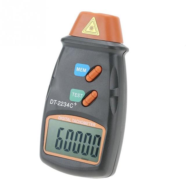 Digital Tachometer DT-2234C Non-Contact Digital LCD Laser Photo Tachometer Mini RPM Tester Meter Speed Measuring Instrument