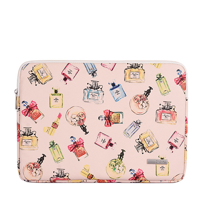 11.6 12 13.3 14 15.6 Inch Laptop Sleeve PU Leather Polyurethane Leather Fashion for Women for Business Office for Colleages Schools Waterpoof Shock Proof