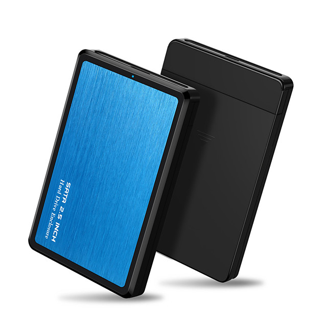 DRXENN 2.5 Inch 5Gbps HDD Case USB 3.0 to SATA Adapter External Hard Drive Enclosure For SSD Disk Case Mobile Enclosure Box With USB 3.0 Version Cable