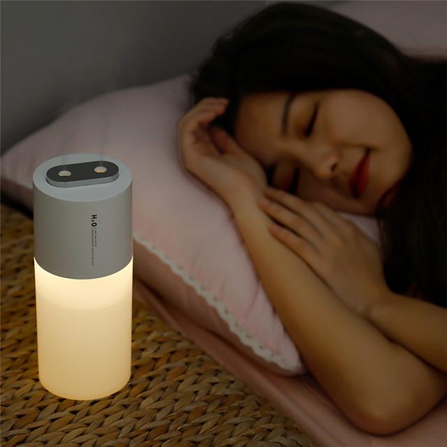 1pcs USB Humidifier 400ml Portable Double Nozzle Ultrasonic Air Humidificador Mist Maker Air Purifier For Home
