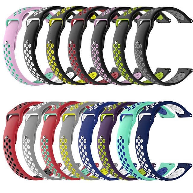 Watch Band for Garmin Vivoactive 4 Garmin Sport Band Silicone Wrist Strap