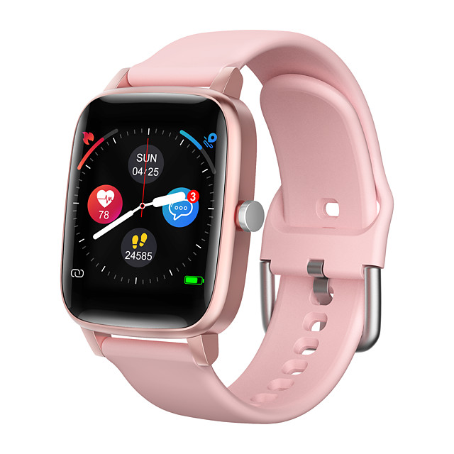 SMART WATCH OT98 Men Women Smartwatch Android iOS Bluetooth Waterproof Touch Screen Heart Rate Monitor Blood Pressure Measurement Sports Pedometer Call Reminder Activity Tracker Sleep Tracker