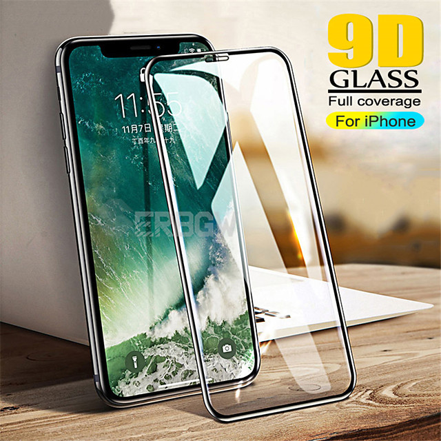AppleScreen ProtectoriPhone 11/11 Pro/11pro Max/X/Xs/Xs Max/7/8/7Plus/8Plus 9D Touch Compatible Front Screen Protector 3 pcs/5 pcs Tempered Glass
