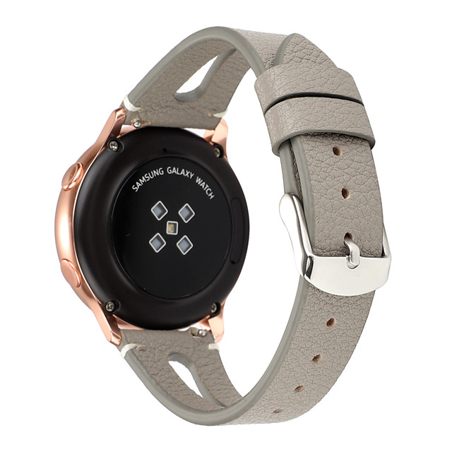 20mm Watchband For Huawei Watch GT2 42mm/MagicWatch 2 42MM  Leather Strap