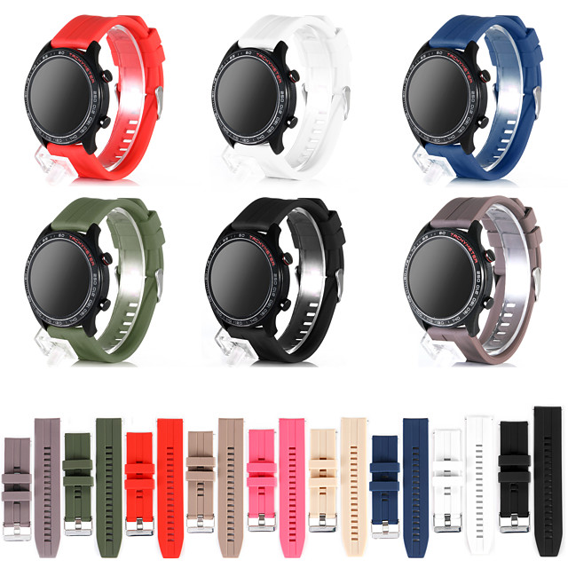 Watch Band for Huawei Watch GT / Huawei Watch GT 2 Huawei Sport Band Silicone Wrist Strap