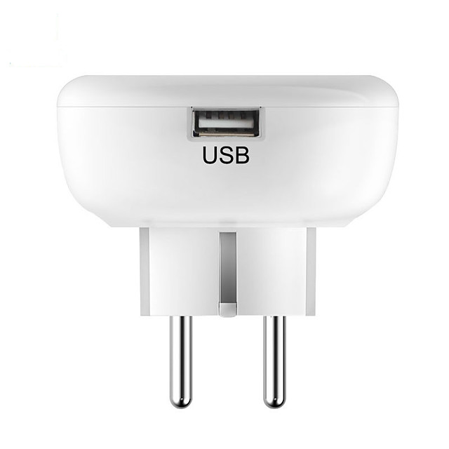Home Furnishing Intelligence Socket European Regulations WIFI Wireless Remote Control Timer Socket USB Charging EU Plug