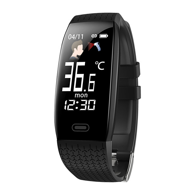 O5T Men Women Smart Bracelet Smartwatch Android iOS Bluetooth Waterproof Touch Screen Heart Rate Monitor Blood Pressure Measurement Sports Stopwatch Pedometer Call Reminder Activity