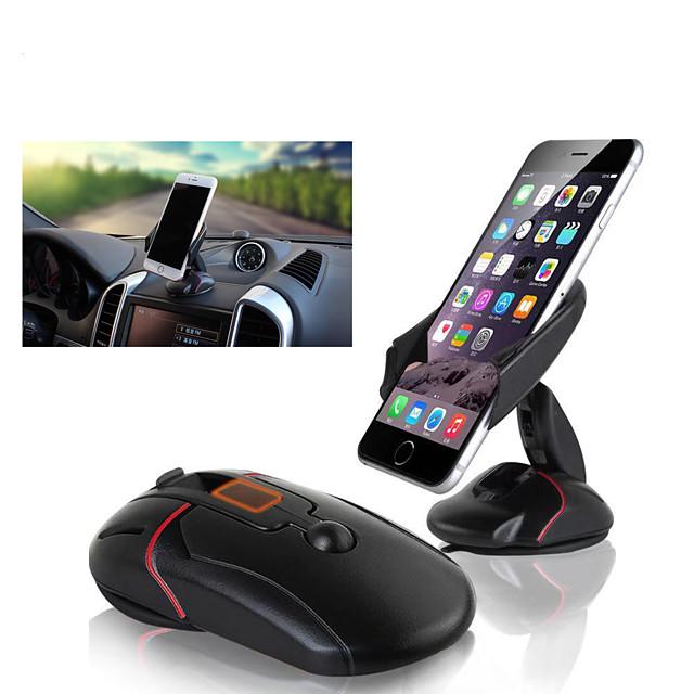 Creative Mouse Car Bracket Mobile Navigation Bracket Silicone Suction Cup Mobile Phone Bracket Deformation Bracket