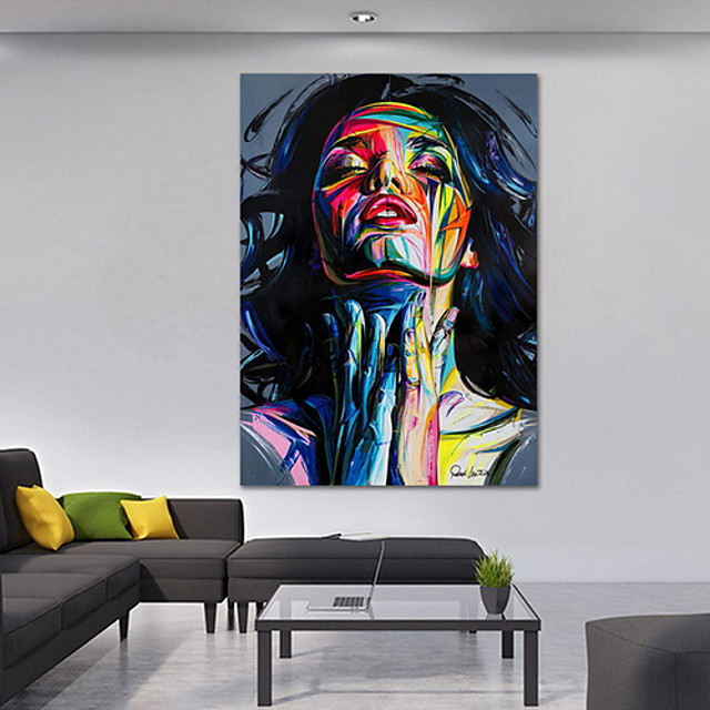 Street Graffiti Wall Art Canvas Prints Abstract Pop Art Girls Watercolor Canvas Paintings On The Wall Pictures For Home Decor