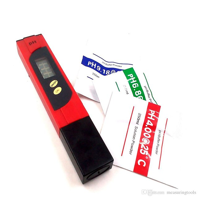 Digital PH Meter Testing Pen PH Tester Monitor 0-14PH With ATC protable PH meters