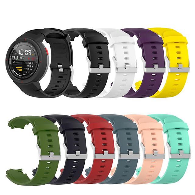 Silicone Watch Band for Amazfit Verge / Amazfit Verge Lite Sports Silicone Watch Band Smart watch Fashion Wearable Strap for Amazfit Verge / Amazfit Verge Lite