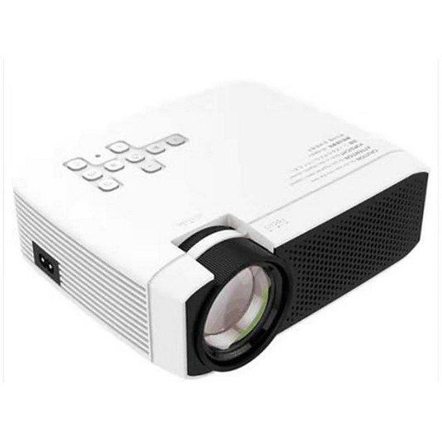 Basic Version LCD Portable Projector Mobile Phone Video Projector Smart Mini Projector
