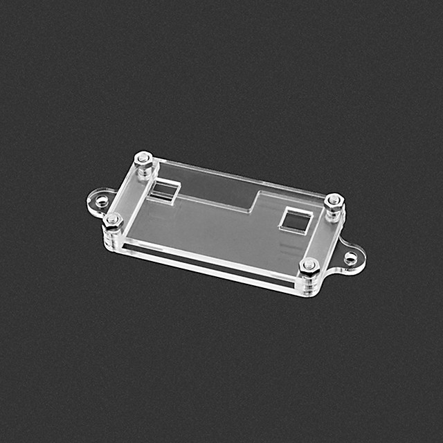 Acrylic Enclosure For Microbit Colorless Transparent Case Environmental Protection
