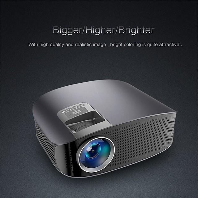 YG610 Mini Projector Led Full HD 1080P  Wired Sync Display Beamer Multi Screen Home Theatre HDMI VGA USB