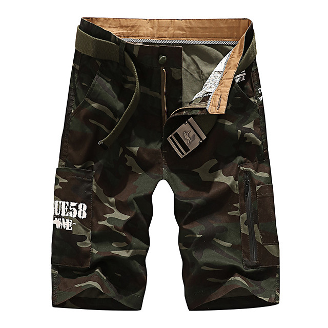 Men's Hiking Shorts Hiking Cargo Pants Camo Summer Outdoor 10