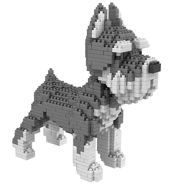 Building Blocks Educational Toy 900+ Dog compatible Molded ABS Legoing DIY Animal Design Boys and Girls Toy Gift