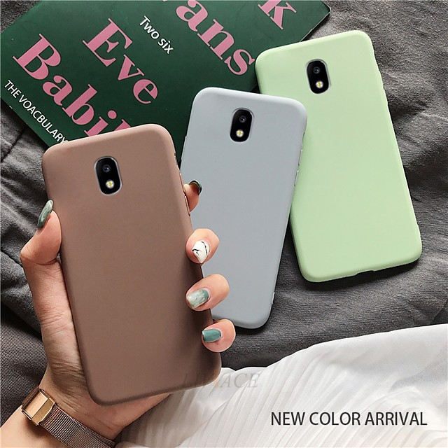 For Samsung J4 6 7 8 4Plus 6Plus Shockproof TPU Soft Case Matte Silicone Case For Samsung M10 20 30 30s Protective Case Bumper Case