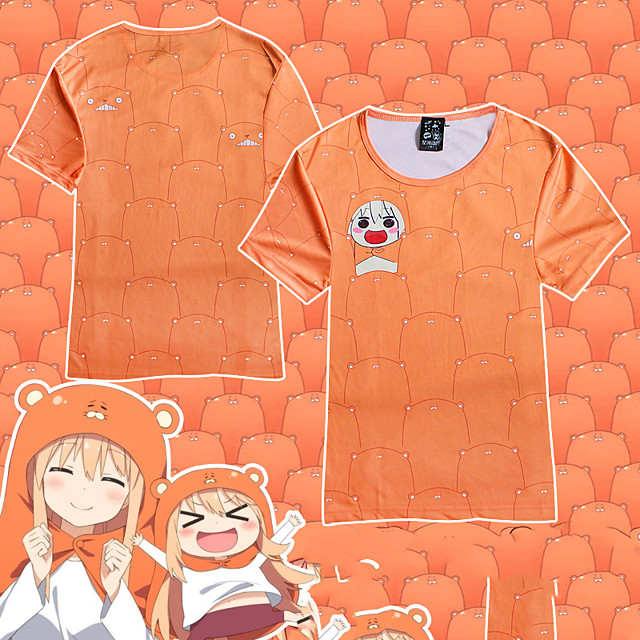 Inspired by Himouto Anime Cosplay Costumes Japanese Cosplay T-shirt T-shirt For Women's Girls'