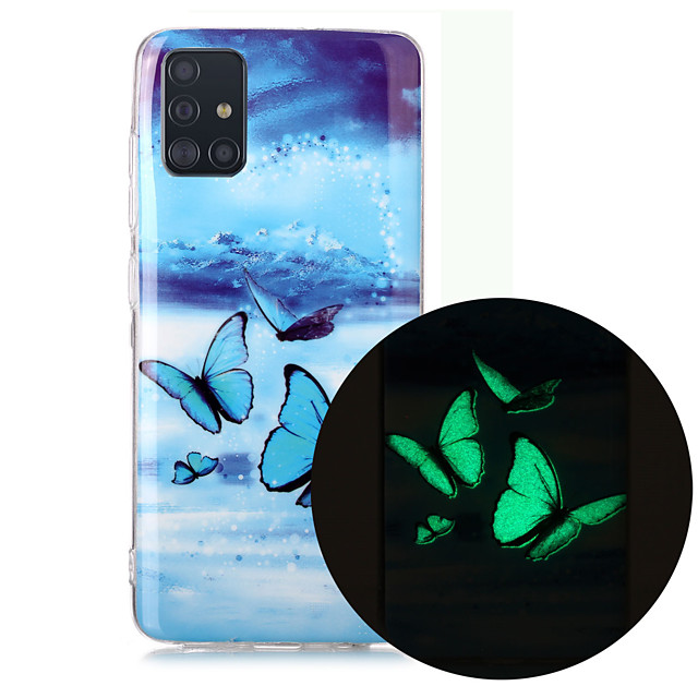 Case For Samsung Galaxy A71 A51 Phone Case TPU Material Painted Pattern IMD Luminous HD Mobile Phone Case for Galaxy A10 A20 A30 A40 A50 A70 A70E A20S A10S