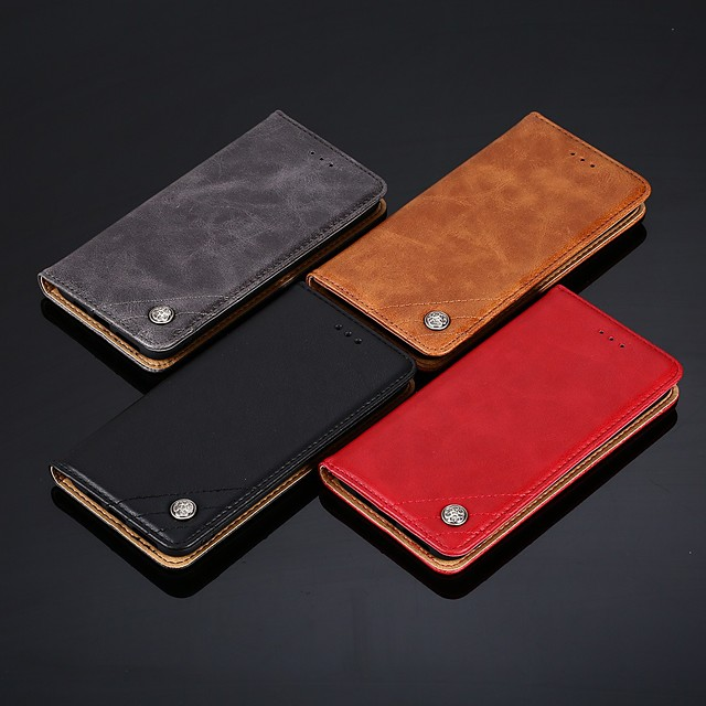 PU Leather case for iPhone 11 Luxury PU Leather Wallet Case For Apple iPhone 11 Pro iPhone 11 Pro Max iPhone XR Shockproof with Stand Back Cover Card Holder