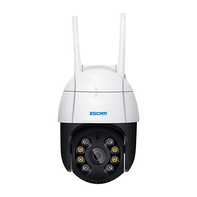 ESCAM QF218 1080P Pan/Tilt AI Humanoid Detection Cloud Storage Waterproof WiFi IP Camera with Two Way Audio