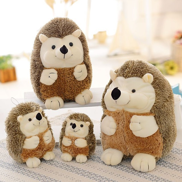 1 pcs Stuffed Animal Pillow Plush Doll Sofa Toys Plush Toys Plush Dolls Stuffed Animal Plush Toy Cartoon Characters Hedgehog Comfortable Realistic Soothing PP Plush Imaginative Play, Stocking, Great
