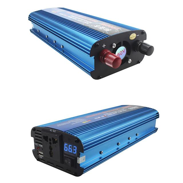 CARMAER inverter 12V / 24V / 220V 2200W car voltage converter car converter 12V / 24V 220V solar inverter car power inverter charger
