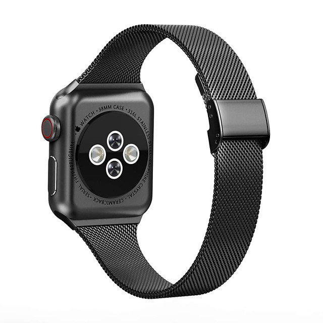 Watch Band for Milanese Loop for Apple Watch Series 6 SE 5 4 3 2 1  Stainless Steel Metal Bracelet