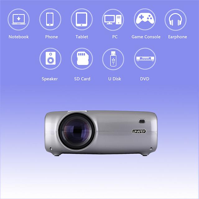 U43 Pro Andori 6.0 Projector Compact 2600lm 1080P Full HD Compatible Home Projector Professional Projector for Home Accessories