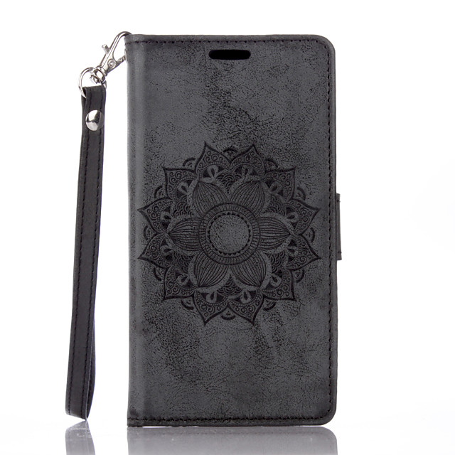 Case for  Sony Xperia X XA Flip Magnetic Full Body Cases Flower PU Leather