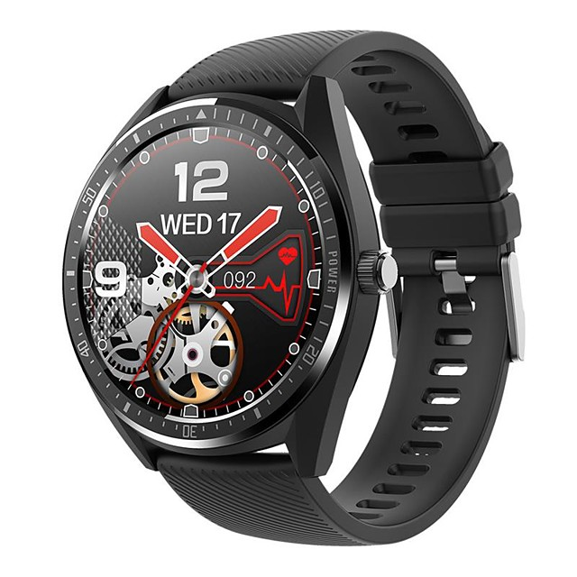 KW33 IP68 Waterproof Smart Watch Men Bracelet 15 Days Work Time Battery 340mAh Smartwatch Bluetooth IOS Android Band