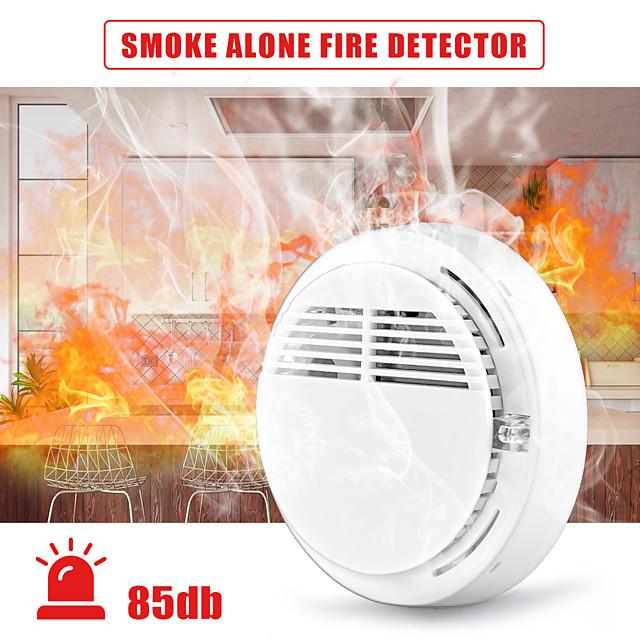 Smoke Alarm Smart Home Fire Alarm Detector Smoke Alarm Sensor Home Safety Wireless Carbon Monoxide Detector