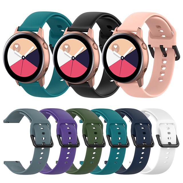 Silicone Watch Band for Huawei Watch GT2 42mm / Magic Watch 2 42mm / Huawei Watch 2 / Replaceable Bracelet Wrist Strap Wristband